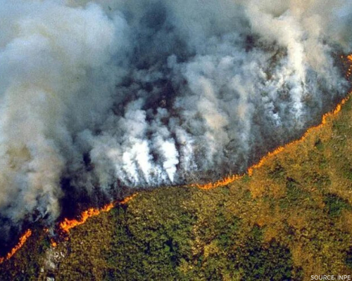 Fires in the Amazon Header Image