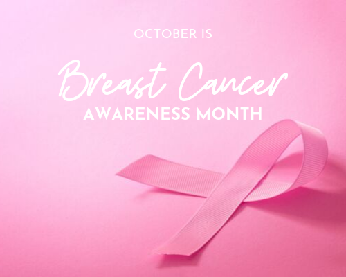 October is Breast Cancer Awareness Month Header Image