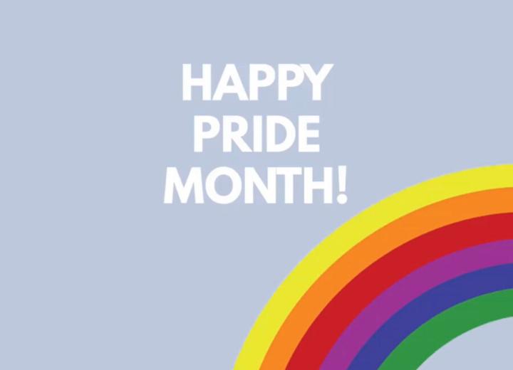 LGBTQ+ Pride Month Header Image